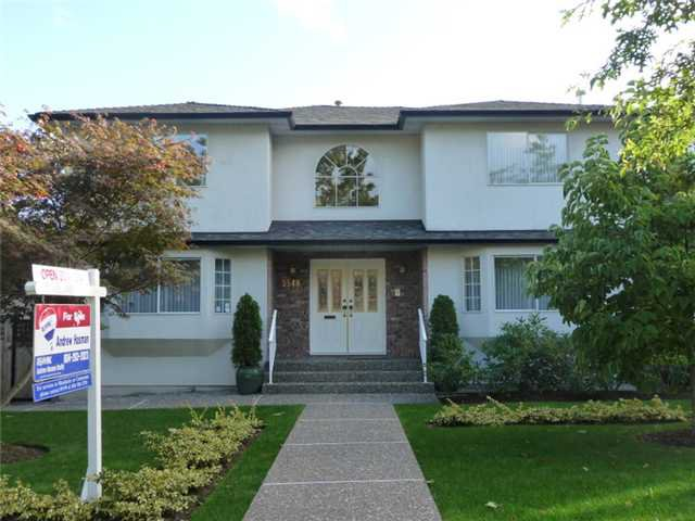 Main Photo: 3548 W 42ND Avenue in Vancouver: Southlands House for sale (Vancouver West)  : MLS®# V912309