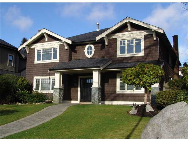 Main Photo: 1845 W 62ND Avenue in Vancouver: S.W. Marine House for sale (Vancouver West)  : MLS®# V931885