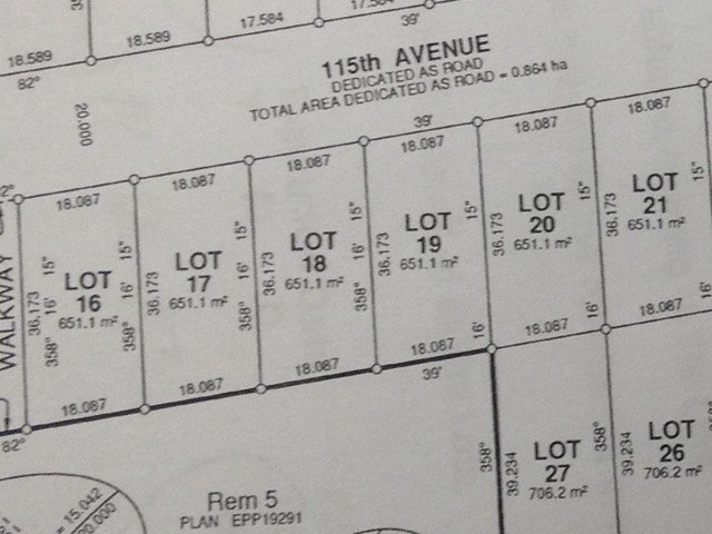 Main Photo: LOT 18 115 Street in Fort St. John: Fort St. John - City NW Land for sale (Fort St. John (Zone 60))  : MLS®# N241500