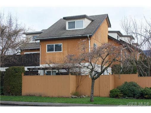 Main Photo: 4 505 Dalton Street in VICTORIA: VW Victoria West Townhouse for sale (Victoria West)  : MLS®# 346349