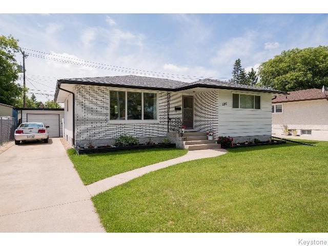 Main Photo: 586 Oakland Avenue in WINNIPEG: North Kildonan Residential for sale (North East Winnipeg)  : MLS®# 1517789