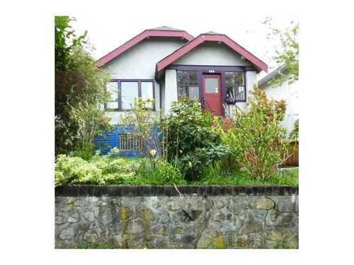 Main Photo: 604 21ST Ave E in Vancouver East: Fraser VE Home for sale ()  : MLS®# V887611