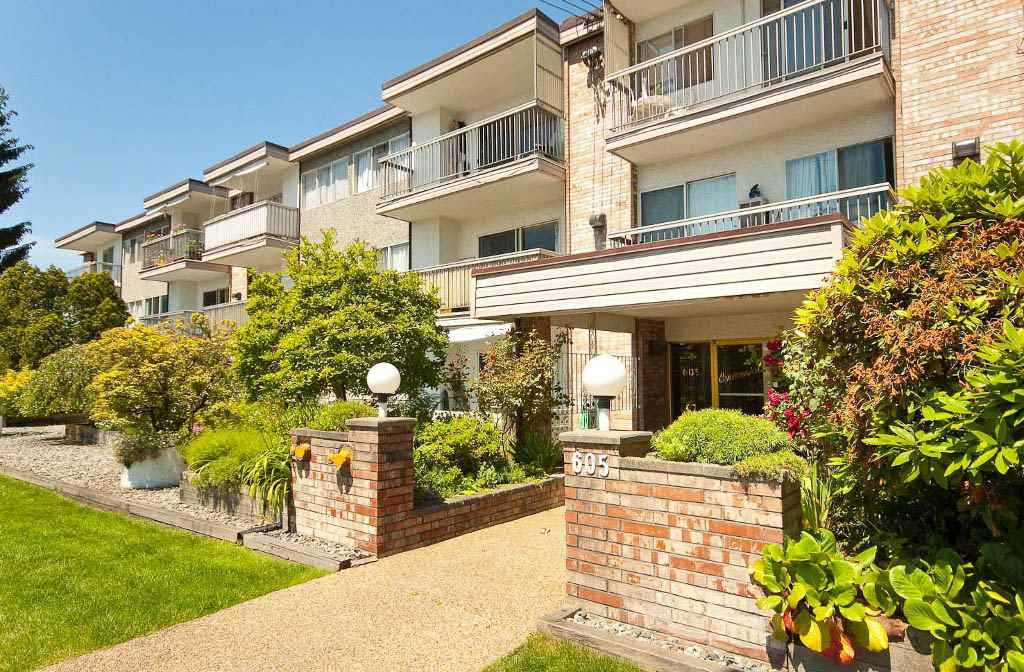 "Main Photo: 301 605 COMO LAKE Avenue in Coquitlam: Coquitlam West Condo for sale in ""CENTENNIAL HOUSE"" : MLS®# R2044445"