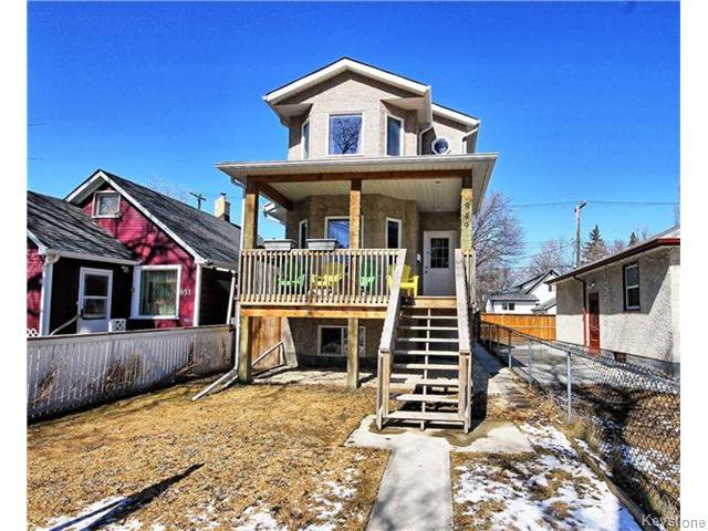 Main Photo: 849 Hector Avenue in Winnipeg: Manitoba Other Residential for sale : MLS®# 1607796