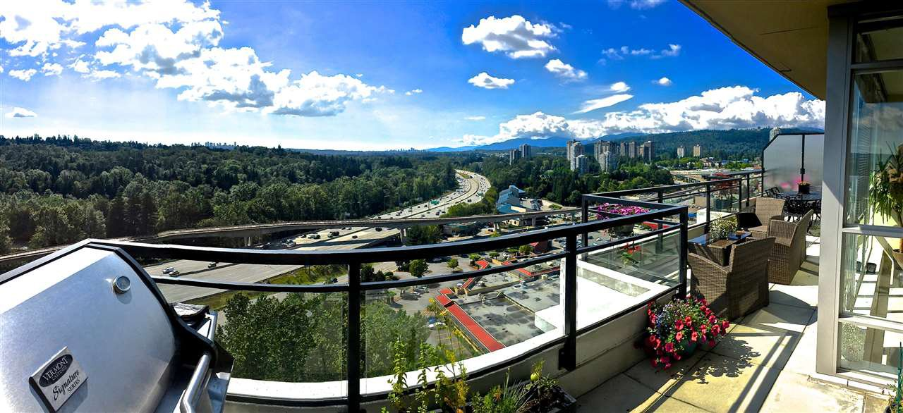 "Main Photo: 2102 555 DELESTRE Avenue in Coquitlam: Coquitlam West Condo for sale in ""CORA TOWERS"" : MLS®# R2083694"