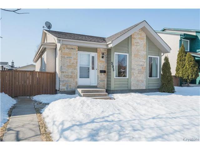 Main Photo: 595 Paddington Road in Winnipeg: River Park South Residential for sale (2F)  : MLS®# 1704729