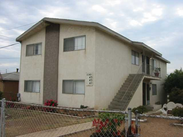 Main Photo: LOGAN HEIGHTS Apartment for rent : 2 bedrooms : 1147 S 36th Street in San Diego
