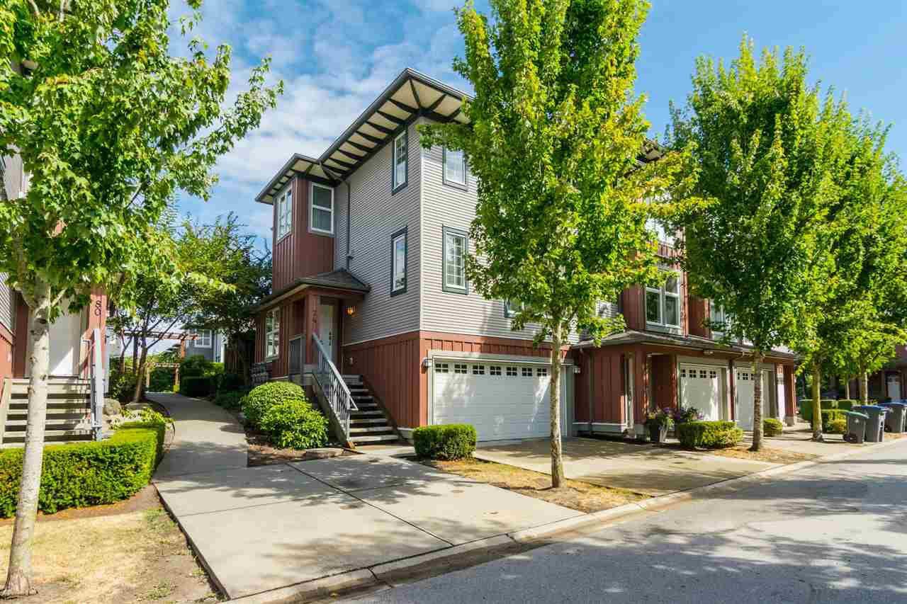 "Main Photo: 74 18777 68A Avenue in Surrey: Clayton Townhouse for sale in ""COMPASS"" (Cloverdale)  : MLS®# R2200308"