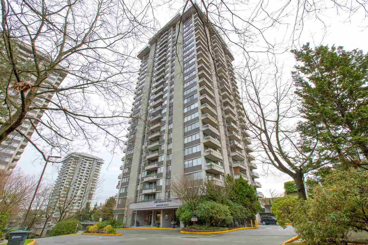 """Main Photo: 2404 3980 CARRIGAN Court in Burnaby: Government Road Condo for sale in """"DISCOVERY 1"""" (Burnaby North)  : MLS®# R2328794"""