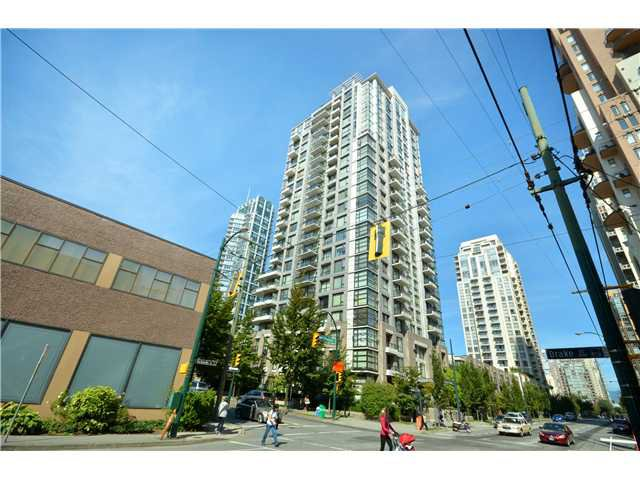 """Main Photo: 1406 1295 RICHARDS Street in Vancouver: Downtown VW Condo for sale in """"THE OSCAR"""" (Vancouver West)  : MLS®# V911504"""
