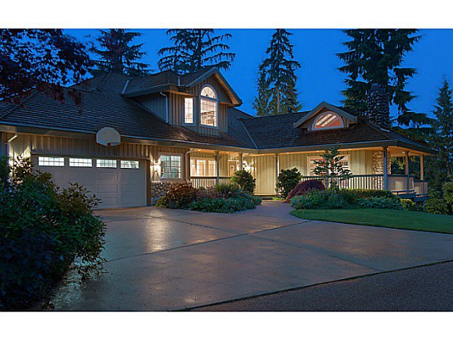 Main Photo: 1060 THOMSON RD: Anmore House for sale (Port Moody)  : MLS®# V1010190