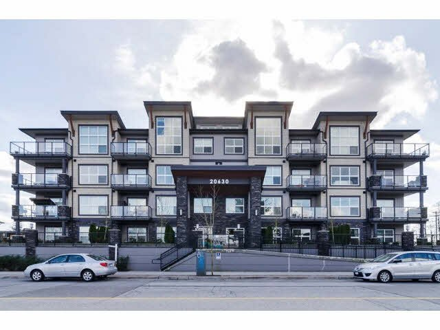 "Main Photo: 104 20630 DOUGLAS Crescent in Langley: Langley City Condo for sale in ""Blu"" : MLS®# F1406027"