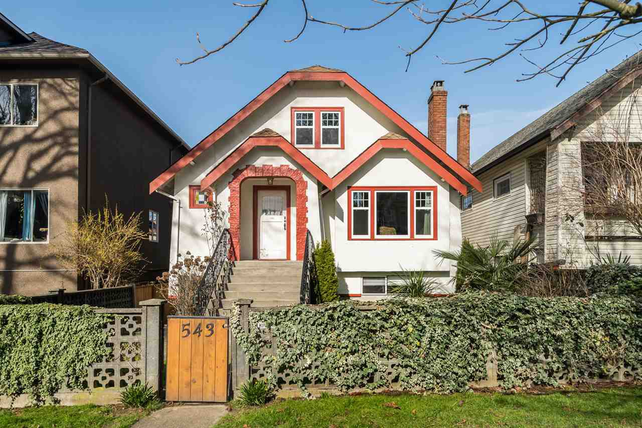 Main Photo: 543 E 10TH Avenue in Vancouver: Mount Pleasant VE House for sale (Vancouver East)  : MLS®# R2039986
