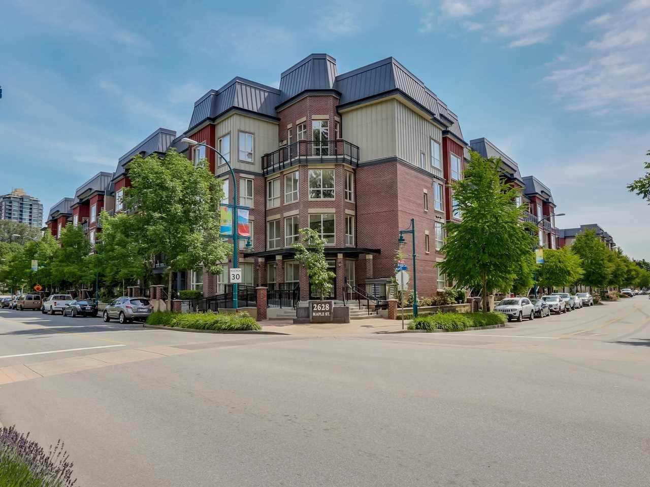 "Main Photo: 316 2628 MAPLE Street in Port Coquitlam: Central Pt Coquitlam Condo for sale in ""VILLAGIO 2"" : MLS®# R2074698"