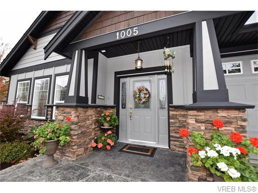 Main Photo: 1005 Graphite Place in VICTORIA: La Bear Mountain Single Family Detached for sale (Langford)  : MLS®# 370960