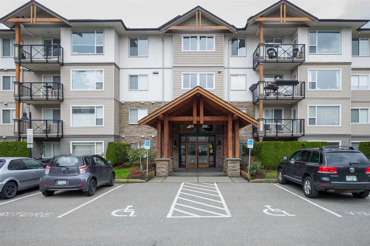 "Main Photo: 414 2955 DIAMOND Crescent in Abbotsford: Abbotsford West Condo for sale in ""Westwood"" : MLS®# R2149525"