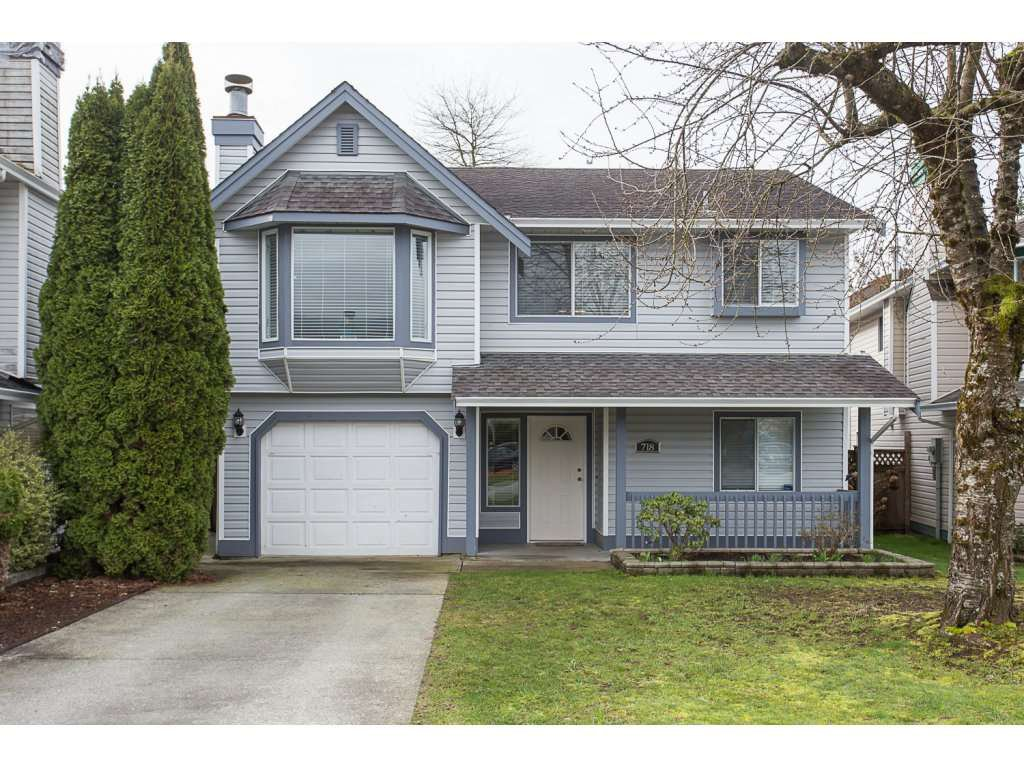 Main Photo: 718 EVANS Place in Port Coquitlam: Riverwood House for sale : MLS®# R2151860