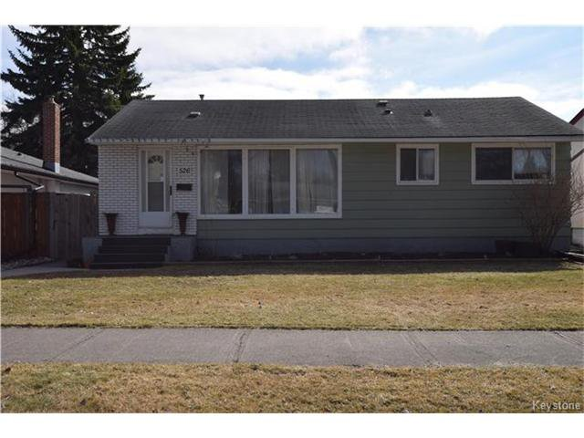 Main Photo: 526 Perth Avenue in Winnipeg: West Kildonan Residential for sale (4D)  : MLS®# 1707900