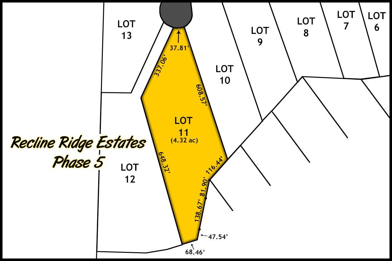 Recline Ridge Estates Phase V - Lot 11