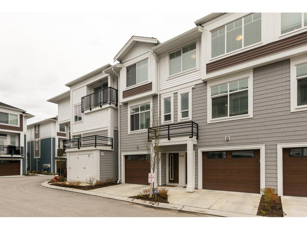 """Main Photo: 20 2528 156 Street in Surrey: King George Corridor Townhouse for sale in """"Zircon"""" (South Surrey White Rock)  : MLS®# R2255387"""