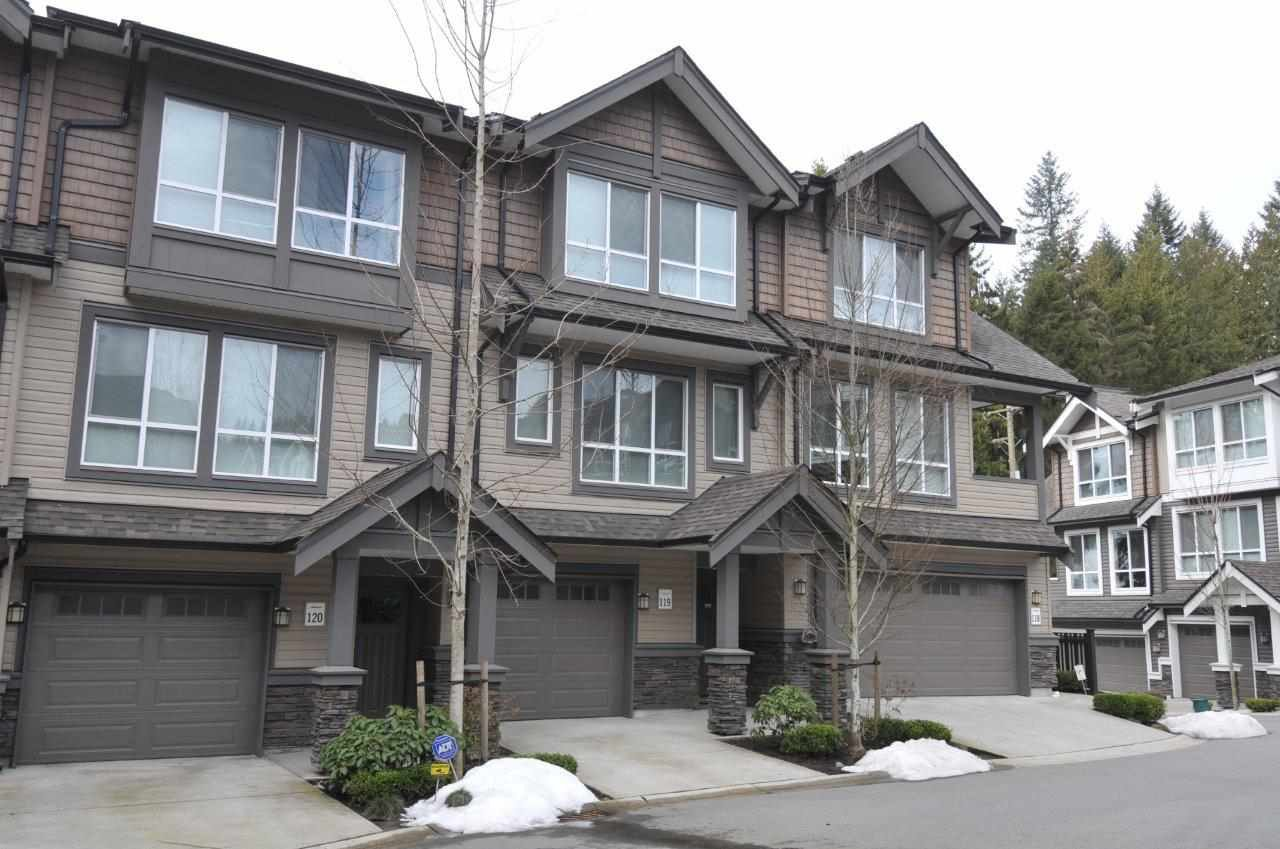 "Main Photo: 119 1480 SOUTHVIEW Street in Coquitlam: Burke Mountain Townhouse for sale in ""CEDAR CREEK NORTH"" : MLS®# R2265531"