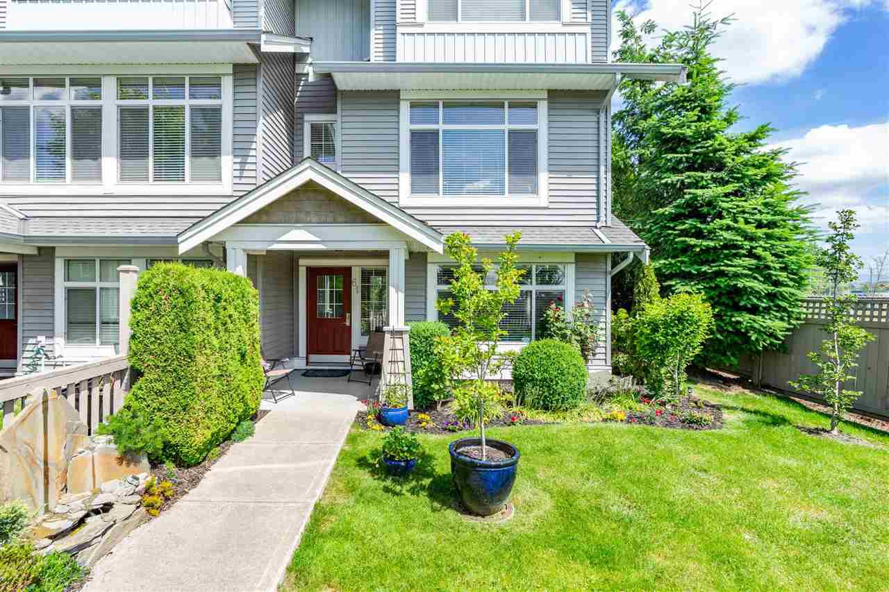 "Main Photo: 61 19330 69 Avenue in Surrey: Clayton Townhouse for sale in ""Montebello"" (Cloverdale)  : MLS®# R2385616"