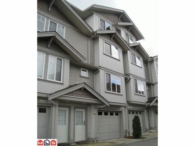 "Main Photo: 175 12040 68TH Avenue in Surrey: West Newton Townhouse for sale in ""Terrane"" : MLS®# F1110293"