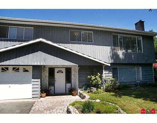 """Main Photo: 20375 37A AV in Langley: Brookswood Langley House for sale in """"Brookswood"""" : MLS®# F2614755"""