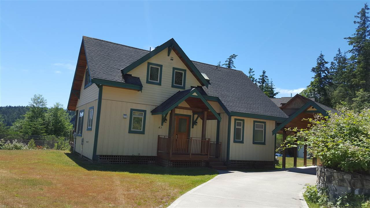 This 2 level home is lovely and sits on a flat level lot near the entry of Farrington Cove