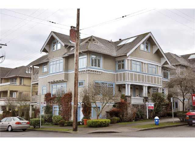 Main Photo: 2204 CYPRESS STREET in : Kitsilano Townhouse for sale : MLS®# V874307