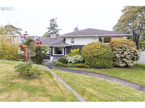 Main Photo: 1241 Rockcrest Place in VICTORIA: Es Rockheights Single Family Detached for sale (Esquimalt)  : MLS®# 378350