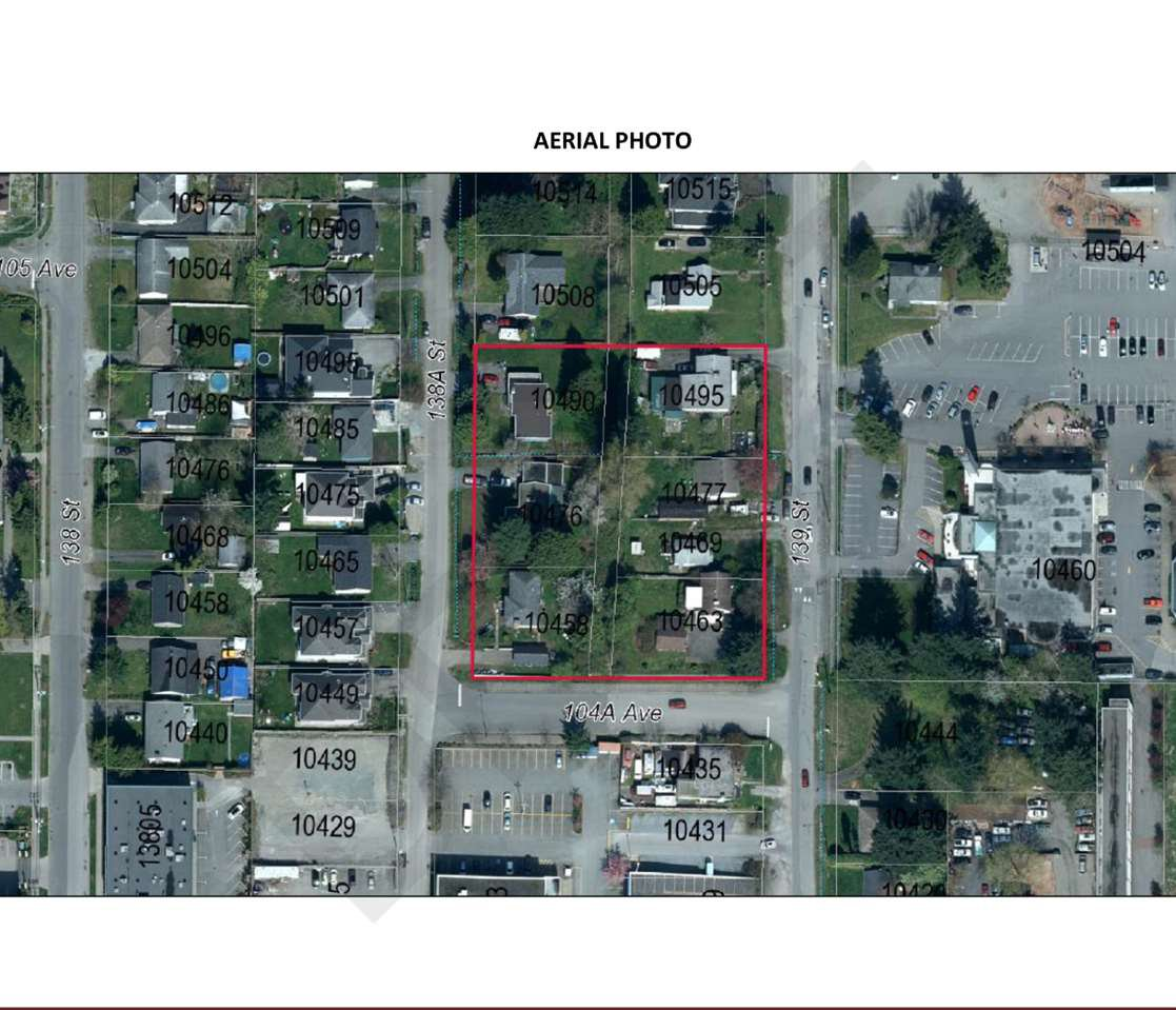 Main Photo: 10458 138A Street in Surrey: Whalley Land for sale (North Surrey)  : MLS®# R2230316