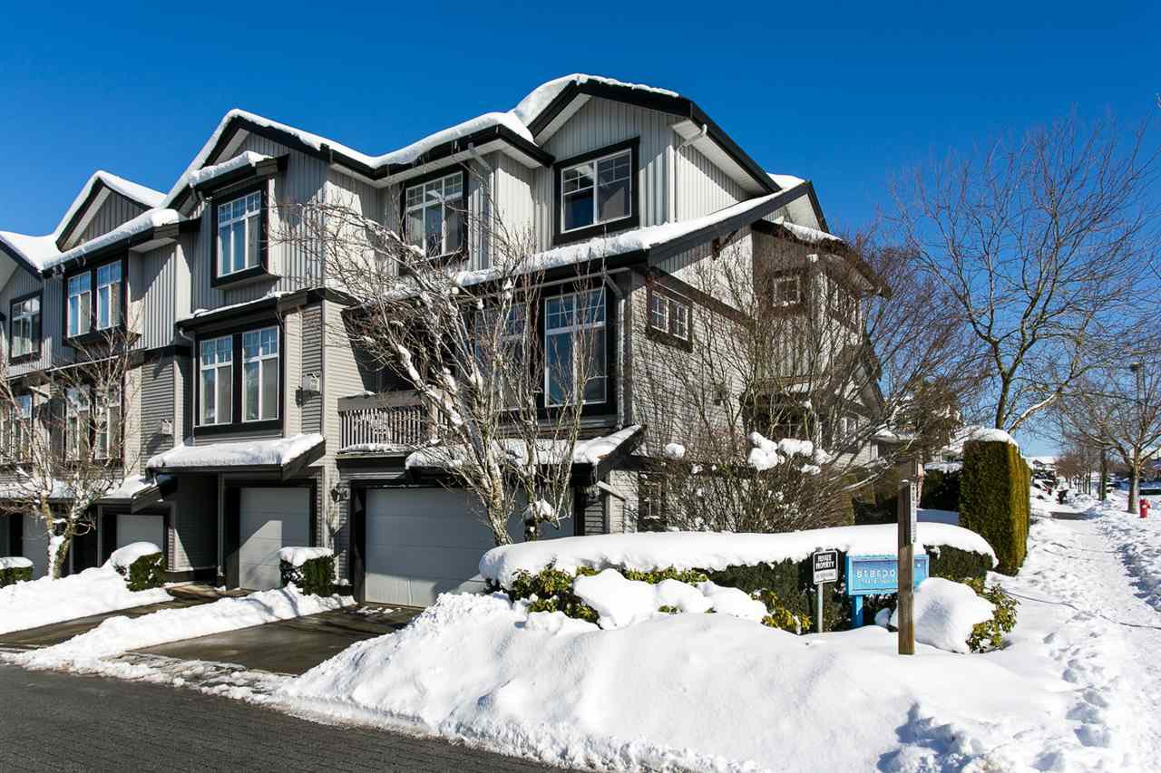 "Main Photo: 52 18828 69 Avenue in Surrey: Clayton Townhouse for sale in ""Starpoint"" (Cloverdale)  : MLS®# R2340576"