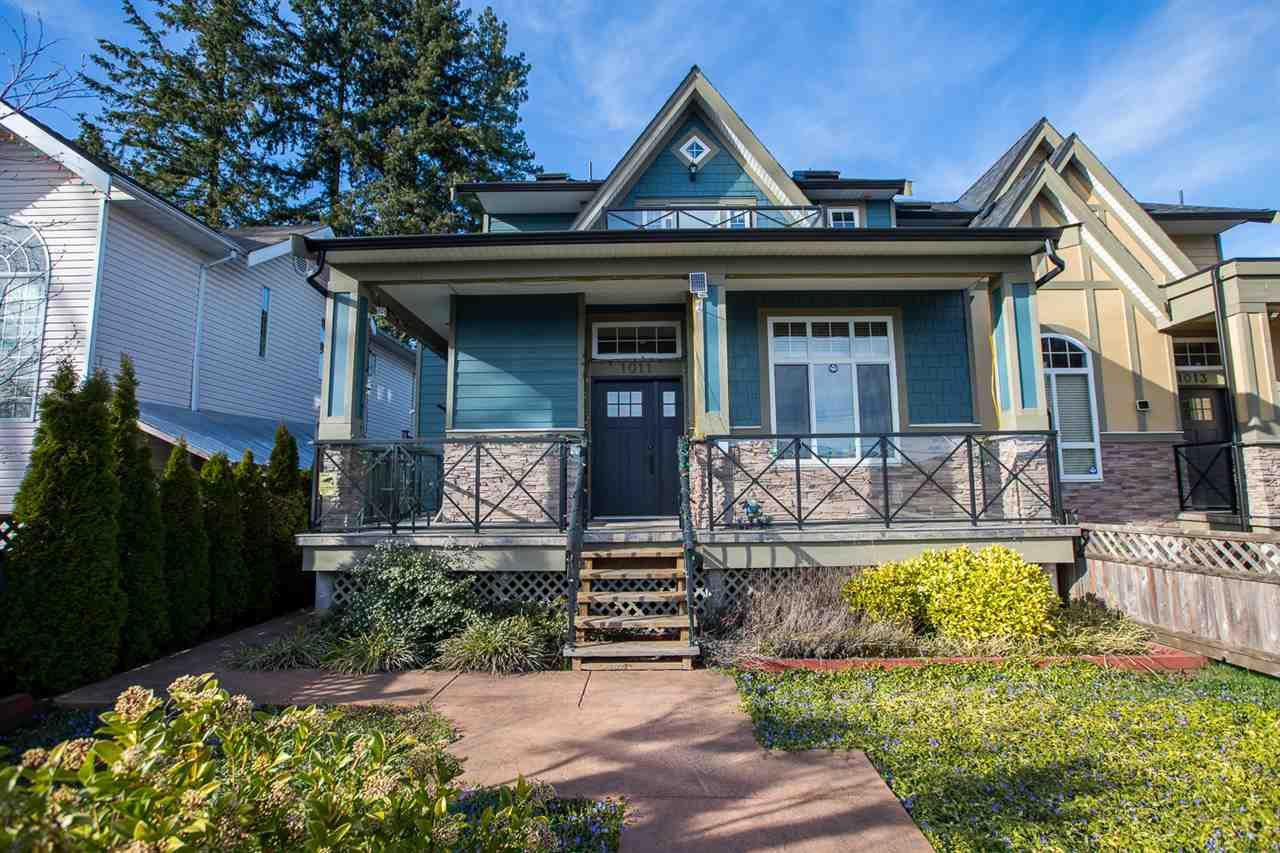 Main Photo: 1011 DELESTRE Avenue in Coquitlam: Maillardville House 1/2 Duplex for sale : MLS®# R2353293