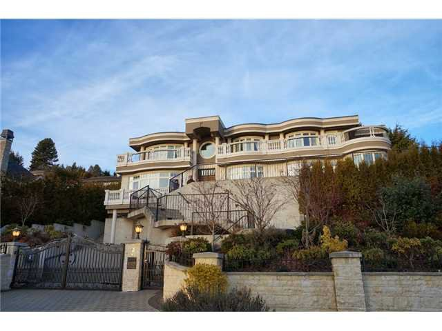 Main Photo: 1325 CAMRIDGE Road in West Vancouver: Chartwell House for sale : MLS®# V1039666