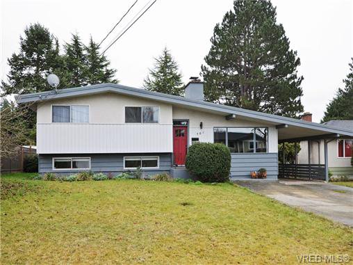 Main Photo: 761 Chesterlea Rd in VICTORIA: SE High Quadra House for sale (Saanich East)  : MLS®# 720959