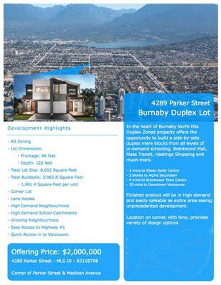Main Photo: 4289 PARKER Street in Burnaby: Willingdon Heights House for sale (Burnaby North)  : MLS®# R2129579