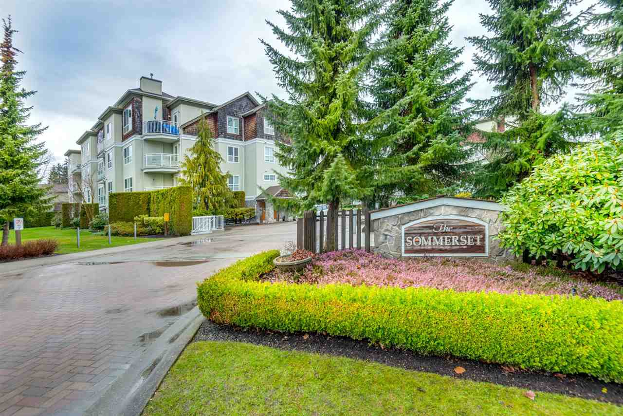 "Main Photo: 410 10188 155 Street in Surrey: Guildford Condo for sale in ""THE SOMMERSET"" (North Surrey)  : MLS®# R2147643"