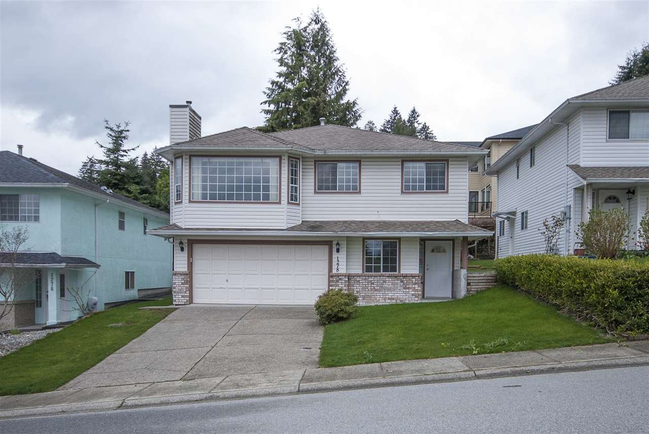Main Photo: 1278 HUDSON Street in Coquitlam: Scott Creek House for sale : MLS®# R2156286