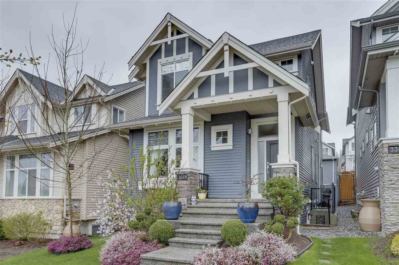 """Main Photo: 3379 PRINCETON Avenue in Coquitlam: Burke Mountain House for sale in """"Amberleigh"""" : MLS®# R2258248"""