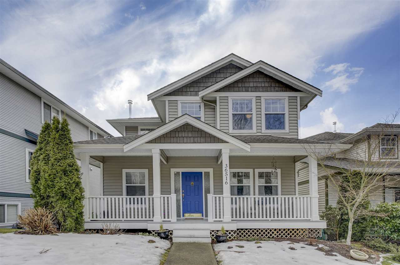 """Main Photo: 36516 LESTER PEARSON Way in Abbotsford: Abbotsford East House for sale in """"AUGUSTON"""" : MLS®# R2347738"""