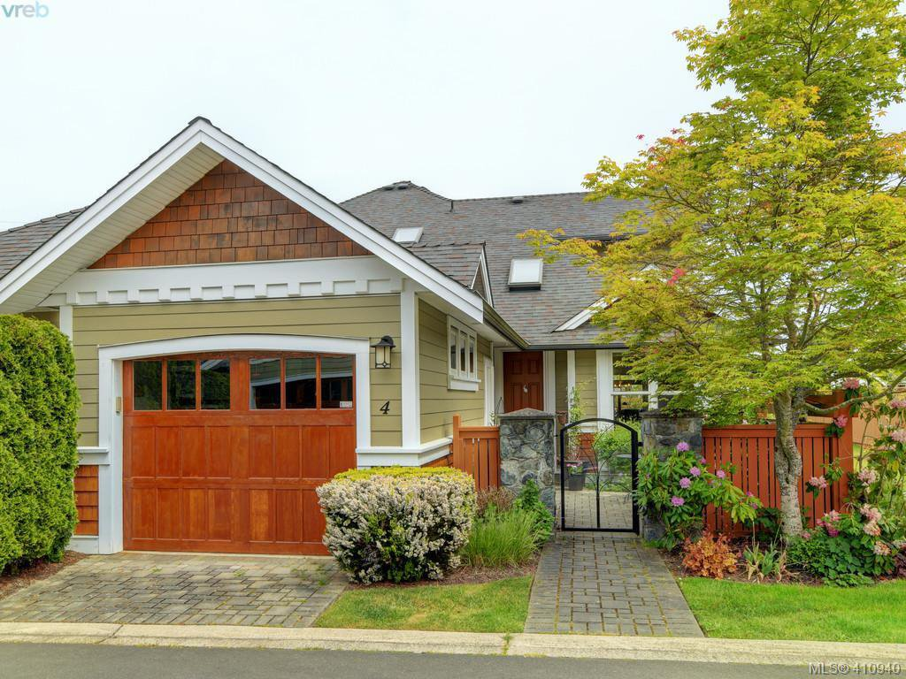 Main Photo: 4 10520 McDonald Park Road in NORTH SAANICH: NS Sandown Row/Townhouse for sale (North Saanich)  : MLS®# 410940
