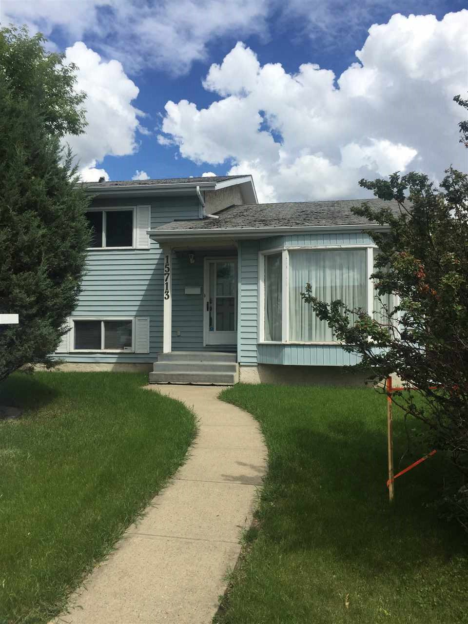Main Photo: 15713 78 Street in Edmonton: Zone 28 House for sale : MLS®# E4163734