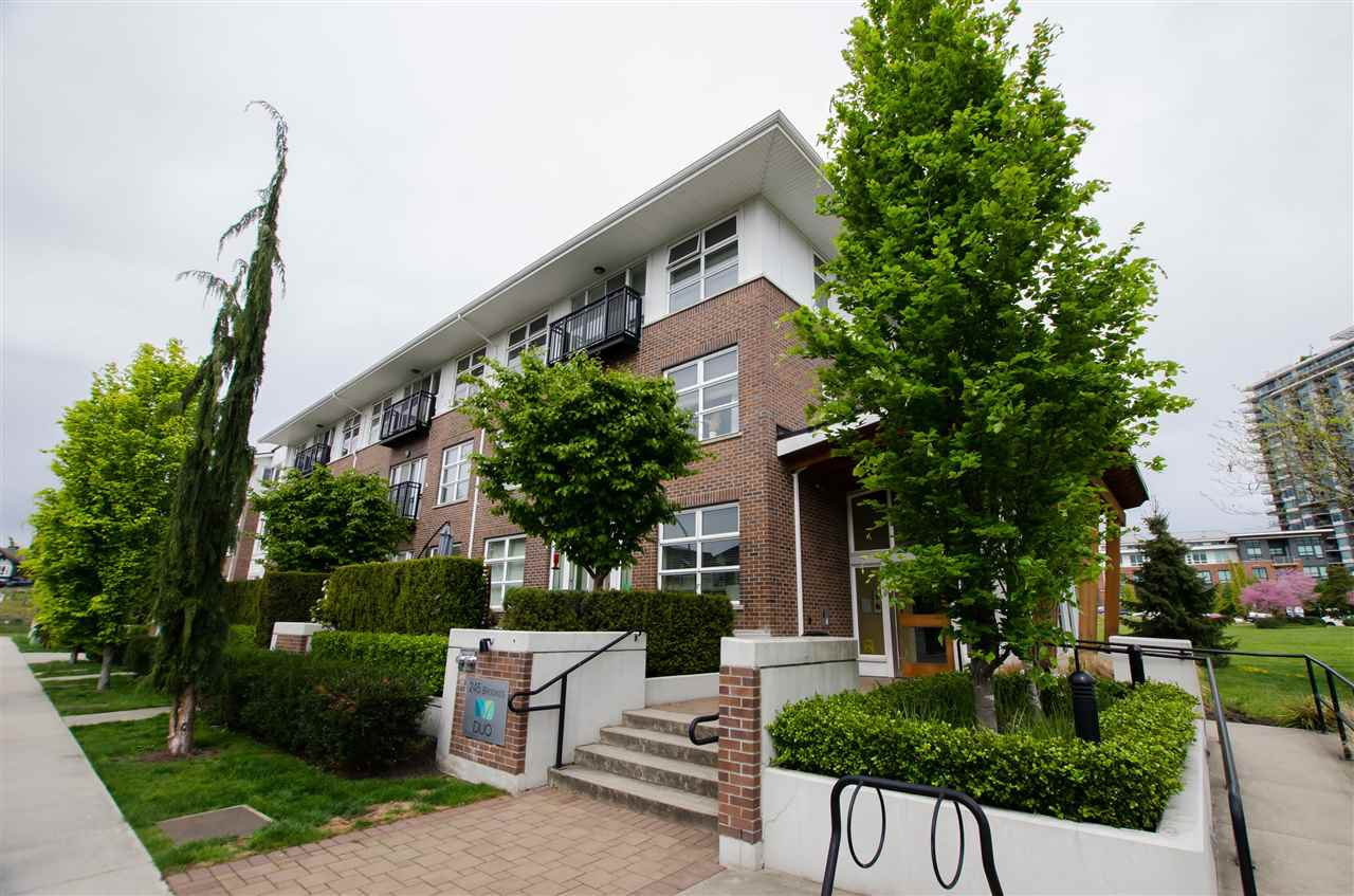 "Main Photo: 203 245 BROOKES Street in New Westminster: Queensborough Condo for sale in ""DUO"" : MLS®# R2454079"