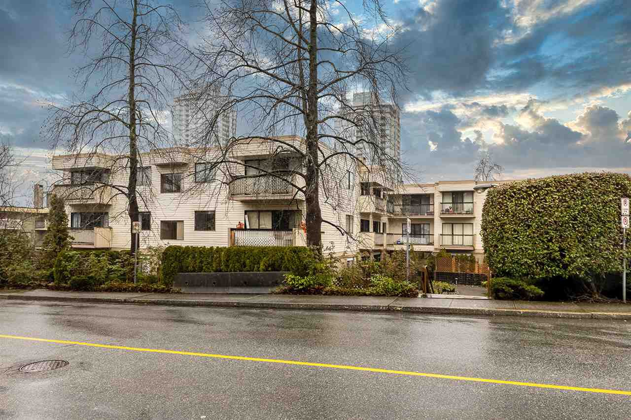 "Main Photo: 315 590 WHITING Way in Coquitlam: Coquitlam West Condo for sale in ""Balmoral Terrace"" : MLS®# R2459730"
