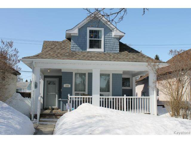 Main Photo: 378 Hampton Street in WINNIPEG: St James Residential for sale (West Winnipeg)  : MLS®# 1405760