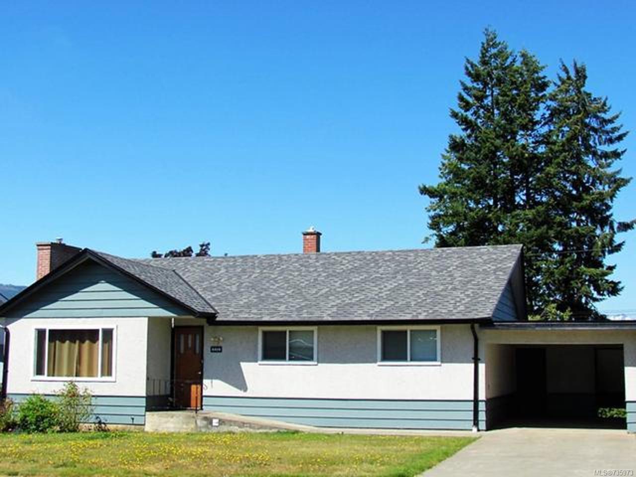 Main Photo: 4414 9TH Avenue in PORT ALBERNI: PA Port Alberni House for sale (Port Alberni)  : MLS®# 735973