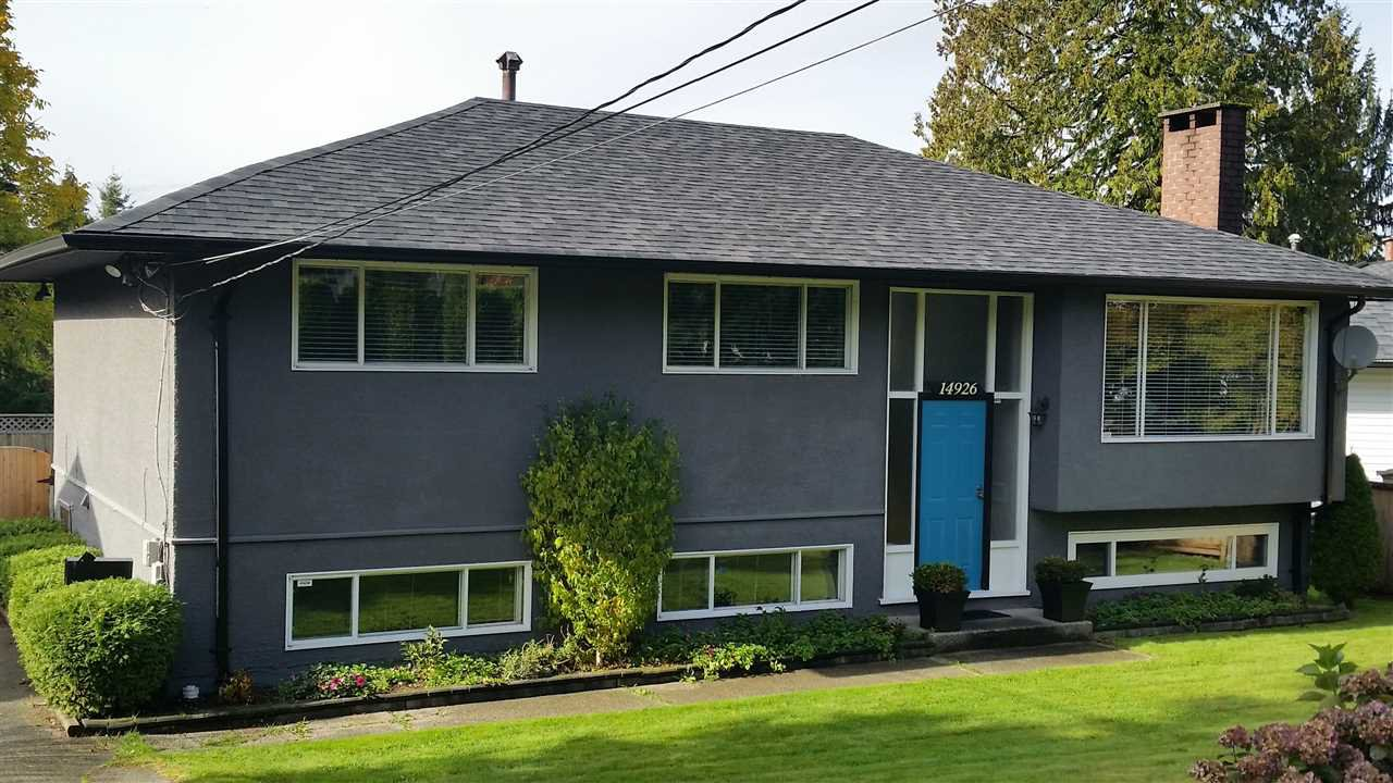 """Main Photo: 14926 KEW Drive in Surrey: Bolivar Heights House for sale in """"birdland"""" (North Surrey)  : MLS®# R2117026"""