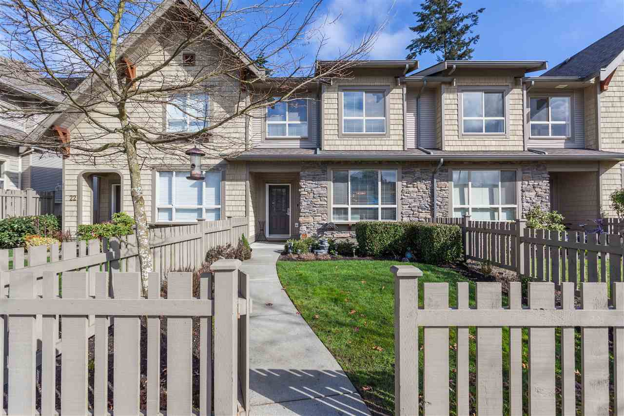 """Main Photo: 23 2738 158 Street in Surrey: Grandview Surrey Townhouse for sale in """"Cathedral Grove"""" (South Surrey White Rock)  : MLS®# R2151178"""
