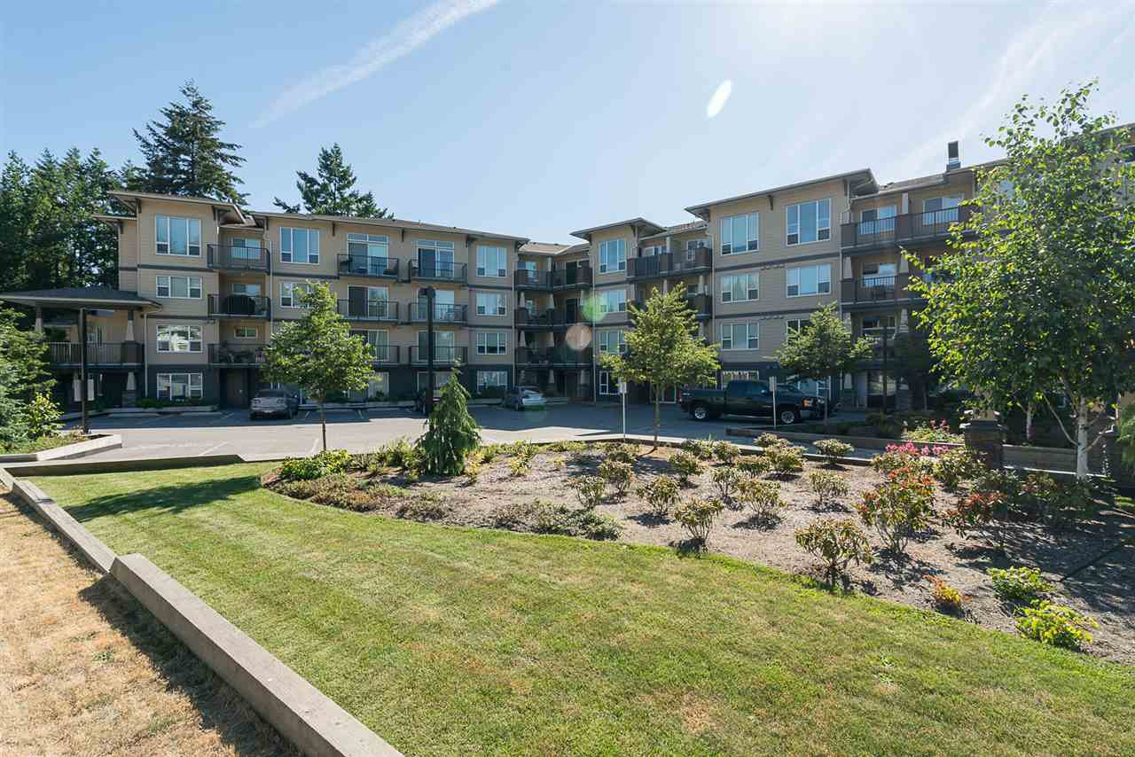 "Main Photo: 421 2565 CAMPBELL Avenue in Abbotsford: Central Abbotsford Condo for sale in ""Abacus"" : MLS®# R2200774"